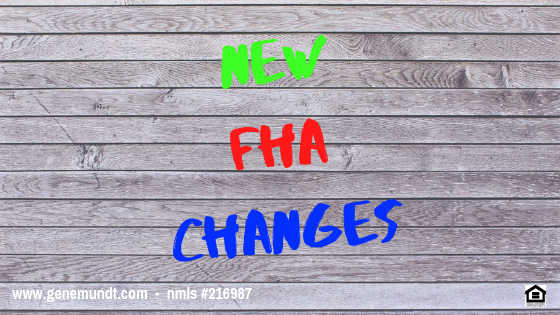 New FHA changes for condo loans